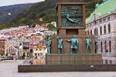picture of viking  - Monument in memory of sailors from viking times to the 20th century  - JPG