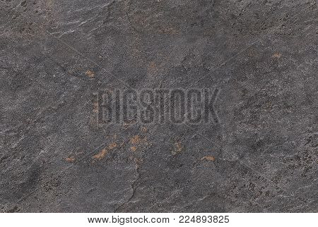poster of Dark gray seamless venetian plaster background stone texture. Traditional venetian plaster stone texture grain pattern drawing. Gray grunge texture. Gray seamless stone texture background. Natural stone texture seamless