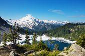 Mt. Baker recreation area, Washington, USA poster
