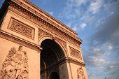 foto of charles de gaulle  - The Arc de Triomphe  - JPG
