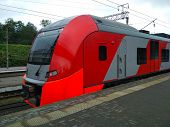 High-speed Electric Train swallow Was Developed By A German Company. It Consists Of 5 Cars, The To poster