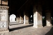 foto of khas  - Hall of Private Audience or Diwan I Khas at the Lal Qila  - JPG