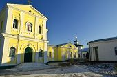 picture of sm  - Samara Desert Nicholas monastery - the main shrine of Cossacks. The first church with a hospital and a school was built on the island between the Zaporozhian p. Samara and her bend Samarchikom back in 1576 from 1602 ** Note: Slight blurriness, best at sm - JPG