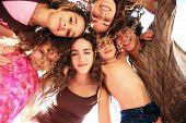 stock photo of happy kids  - Happy Kids Representing Youth Joy and Fun  - JPG