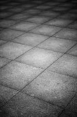 image of tile cladding  - Background texture of dark concrete tiled ground - JPG