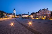 Small Square in Sibiu.