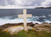 Cross Tribute To Sailors Lost At Sea