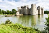 Bodiam Castle, East Sussex, England