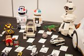 Vintage Robotic Toys At Robot And Makers Show