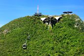 image of langkawi  - Sky Bridge cable car Langkawi island Malaysia Southeast Asia - JPG