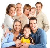 Постер, плакат: Счастливая семья