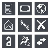 Icons for Web Design set 32