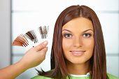 picture of hair dye  - Hair salon - JPG