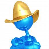 stock photo of buckaroo  - Cowboy - JPG