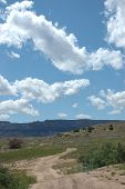 picture of colorado high country  - dirt road in the high desert of colorado - JPG