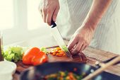 stock photo of cutting board  - cooking - JPG