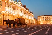 foto of winter palace  - Horse - JPG