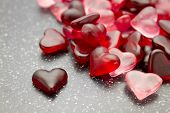 picture of jelly beans  - candy heart jelly beans Valentine full-frame wallpaper