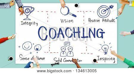 Coaching Coach Development Educating Guide Concept