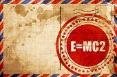 e = mc2 poster