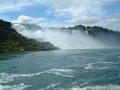 Постер, плакат: Государственный парк Ниагарский водопад