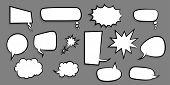 Announces Sketch Idea Conversation Sketch Explosion. Comic Text Speech Bubble Dot Background. Big Se poster