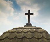 stock photo of atonement  - one pictures of religious symbols in Italy - JPG