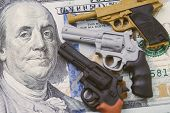 Big Money In Gun Industry, Gun Control Policy In United State Of America After Many Of Mass Shooting poster