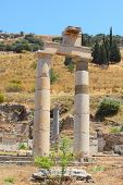 image of brothel  - Antique ruins in a city in the Efes - JPG