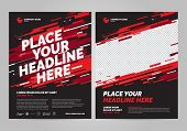 Poster Design Sports Invitation Template. Can Be Adapt To Brochure, Annual Report, Magazine, Poster. poster
