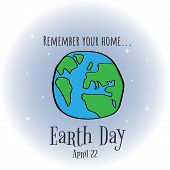 Earth Day. Eco Friendly Ecology Concept. World Environment Day Background. Save The Earth. Green Day poster