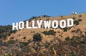 HOLLYWOOD - SEPTEMBER 6: The world famous landmark Hollywood Sign on September 6, 2011 in Hollywood,