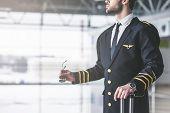 Pilot In Airport poster