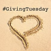 Giving Tuesday Is A Global Day Of Charitable Giving After Black Friday Shopping Day. Charity, Give H poster