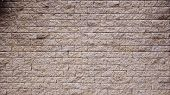 Brown Rock Stone Seamless Texture, Background, Stone Lined  Walls. Sandstone. Stone Background Wall. poster