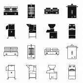 Isolated Object Of Domestic And Appliances Icon. Set Of Domestic And Furniture Stock Vector Illustra poster