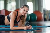 Lifestyle Women Fuctional Training Exercise  And Cross Fit The Gym Workout For Healthy Care And Body poster