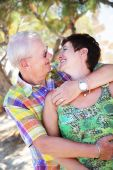 Beautiful Mature Couple In Love