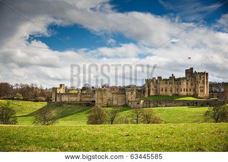 Alnwick Castle Northumberland England