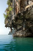 picture of james bond island  - The Cave of James Bond Island in Phang Nga Thailand - JPG