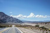 picture of mendocino  - National Road 7 passing by the Department of Lujan de Cuyo in Mendoza Argentina