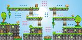 ������, ������: 2D Tileset Platform Game