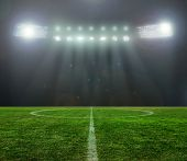 picture of flashing  - On the stadium - JPG