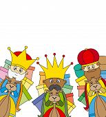 foto of three kings  - letter to the Three Kings - JPG