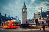 foto of london night  - Double - JPG