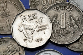 pic of indian flag  - Coins of India - JPG