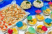 image of catering  - Catering food at a party - JPG