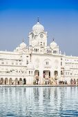 stock photo of harmandir sahib  - Central Sikh Museum in Golden Temple in Amritsar - JPG