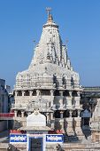 picture of hindu temple  - Jagdish Temple is a large Hindu temple in Udaipur India - JPG