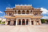 stock photo of palace  - Mubarak Mahal Palace  - JPG